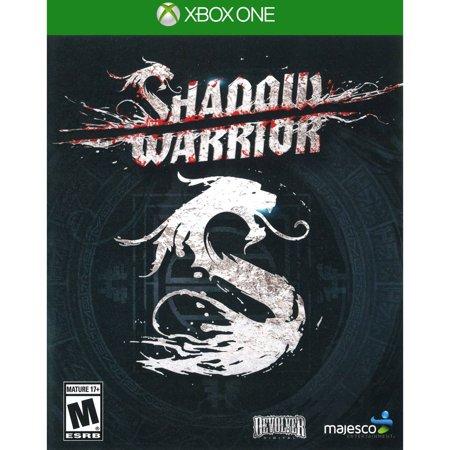 Majesco Shadow Warrior (Xbox One) - Pre-Owned (Warrior Fight Gear)