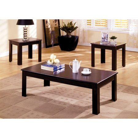 hokku designs frixe 3 piece coffee table set. Black Bedroom Furniture Sets. Home Design Ideas