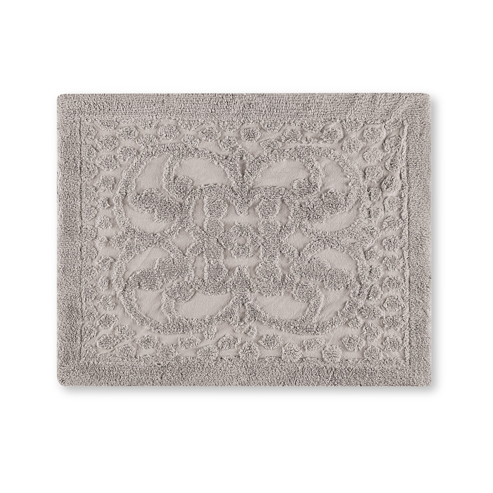 Luxurious Pristine Chenille Pillow Sham, Scroll & Lattice Designs
