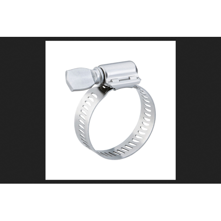 Breeze 3.57 in. to 4.50 in. Stainless Steel Band Hose Clamp