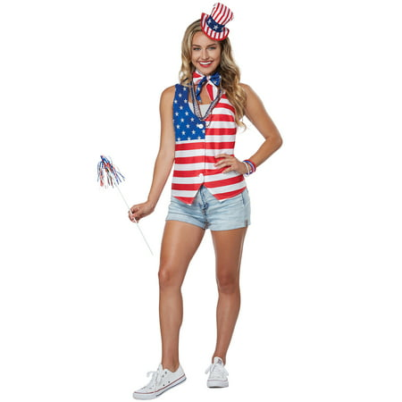 Patriot Costume (Patriot Lady Kit Adult Costume)