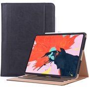 ProCase iPad Pro 12.9 Case 2018 3rd Generation, Vintage Stand Folio Cover Protective Case for Apple iPad Pro 12.9 Inch