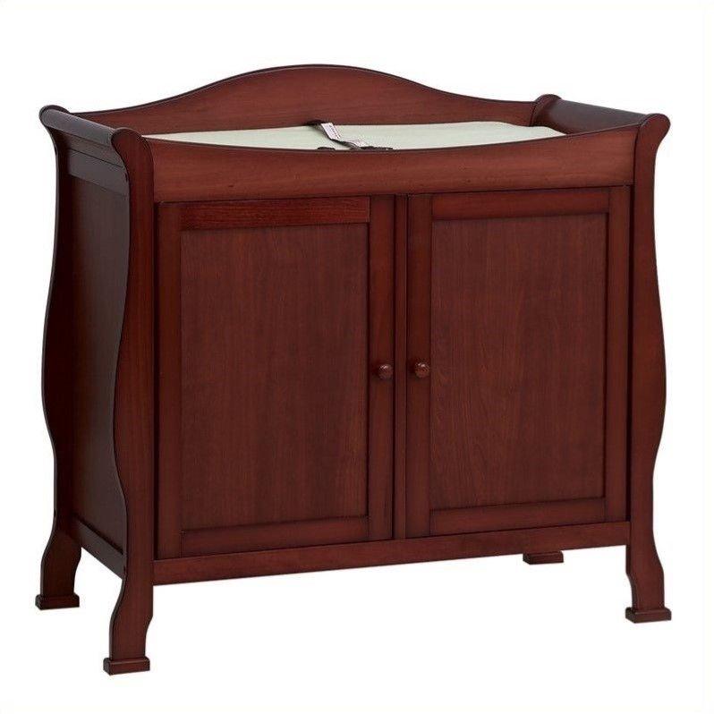 Merveilleux DaVinci Parker 2 Door Wood Changing Table In Cherry   Walmart.com