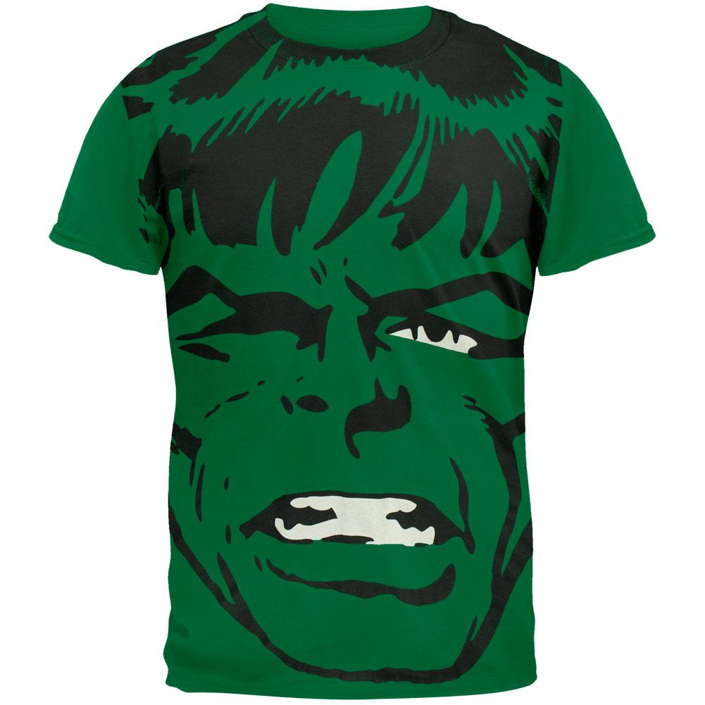 Incredible Hulk - Big Head Subway T-Shirt