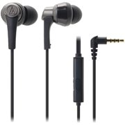 Audio-Technica SonicPro ATH-CKR5iS In-Ear Headphones with In-Line Microphone and Control