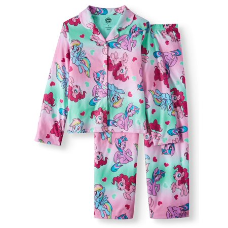 My Little Pony Coat Pajama Sleep Set (Big Girl & Little - My Little Pony Adult Pajamas