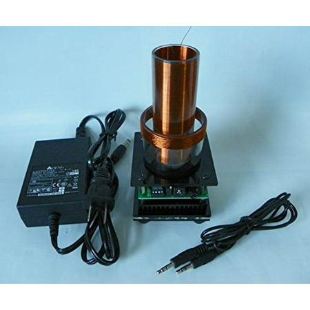 - Joytech Music Tesla Coil Arc Plasma Loudspeaker Wireless Transmission Experiment Desktop Toy Model DL03