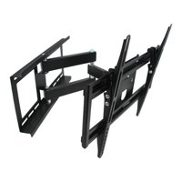 MegaMounts Full Motion Wall Mount with Bubble Level for 26-55 in. Displays