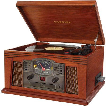 Crosley Radio CR42C-PA Lancaster Musician Entertainment Center, Paprika