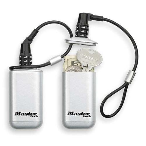 MASTER LOCK 5408D Lock Box, Lanyard Loop, 2 Keys