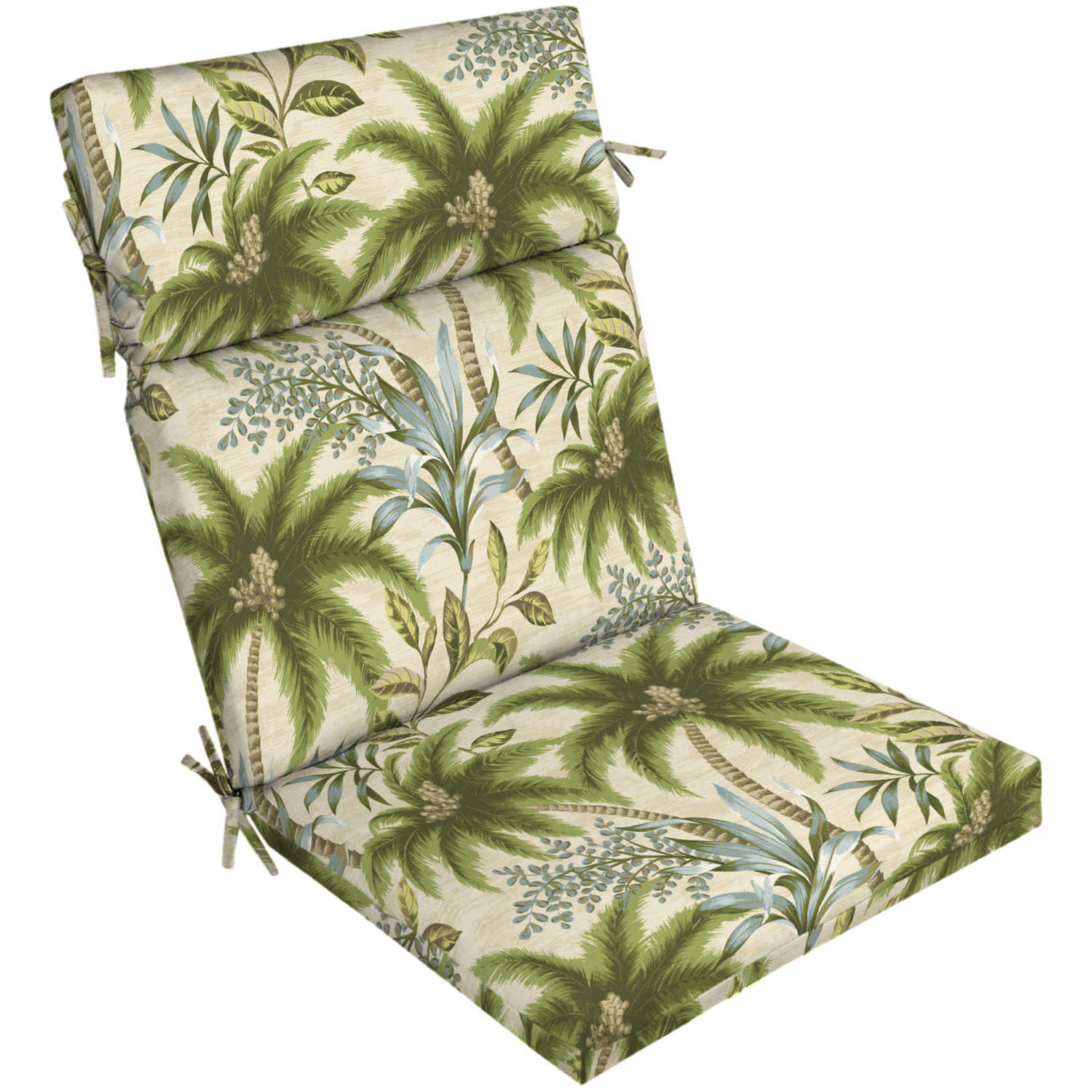 Charmant Better Homes And Gardens Outdoor Patio Dining Chair Cushion, Palm Tree