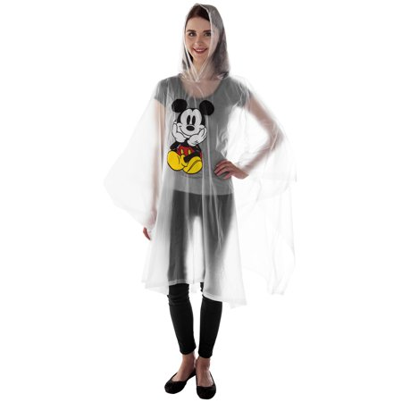 Women's Mickey Mouse Waterproof Rain Poncho - Adult - image 1 of 2
