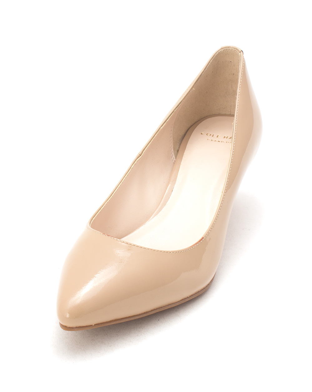 Cole Haan Womens Chantelsam Pointed Toe Classic Pumps, Maple Sugar, Size 6.0