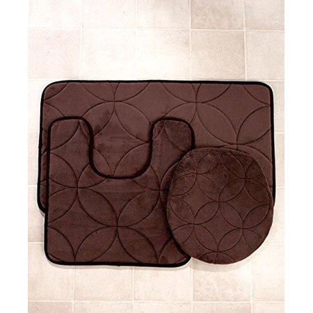 Bathroom Rugs That Absorb Water.Memory Foam Bath Rug Set Chocolateexperience Ultra Soft Cushioning