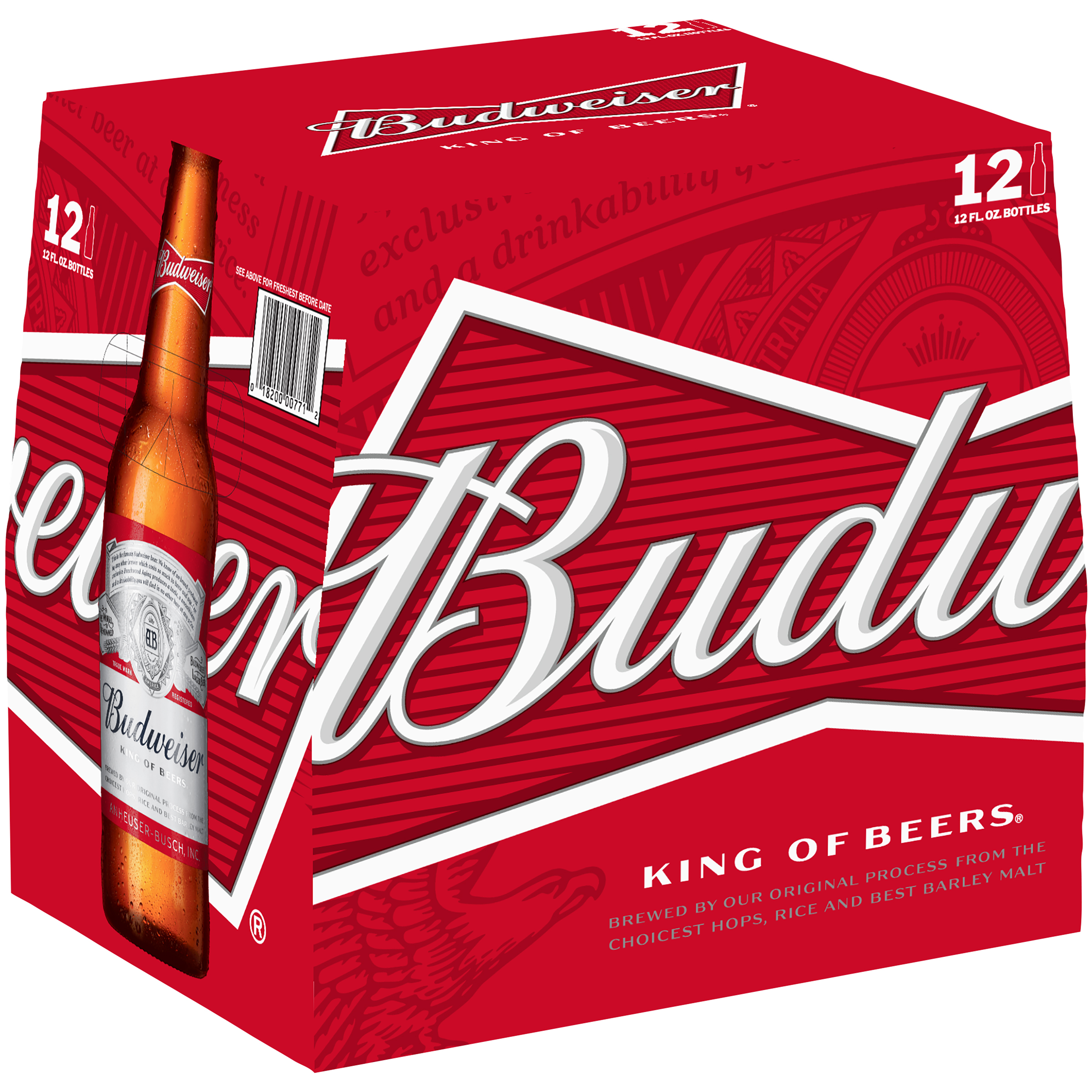 Budweiser Beer, 12 pk 12 fl. oz. Bottles