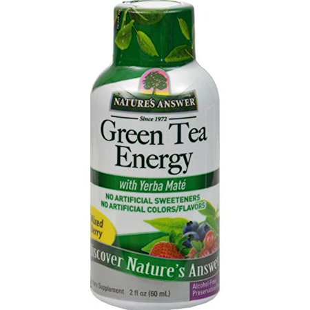 Nature's Answer - Green Tea 2OZ Energy Shot w/ Yerba Maté