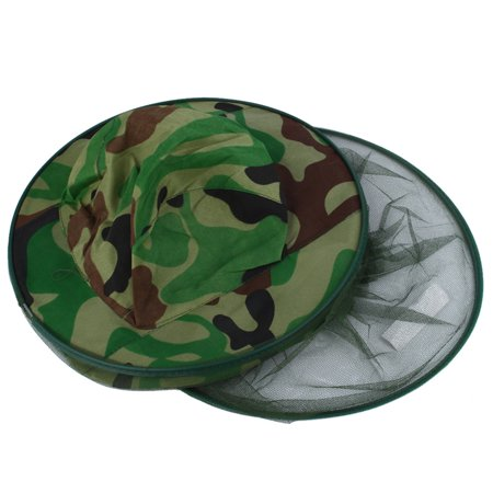 Midge Mosquito Insect Hat Mesh Fishing Caps Head Net Face Protector ...