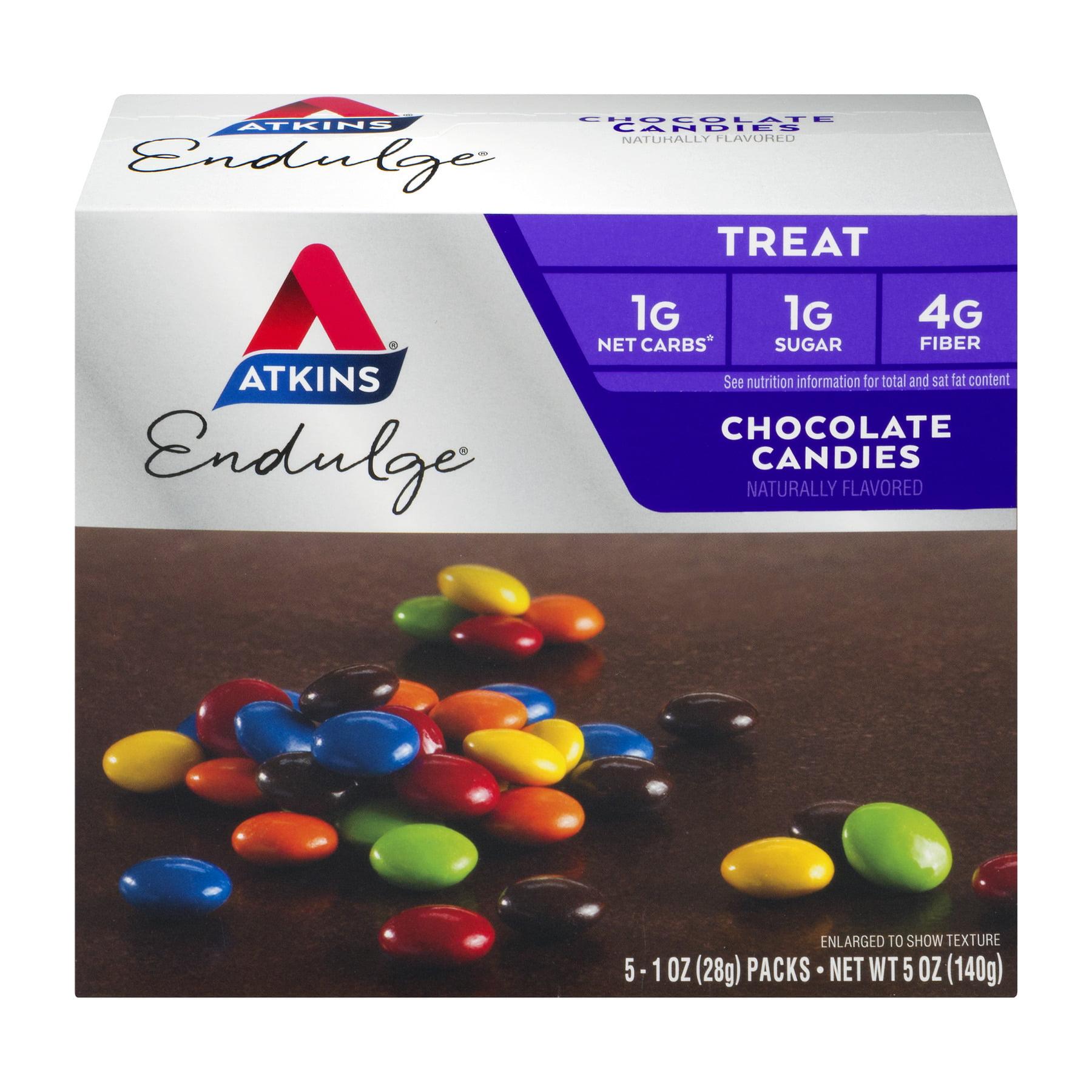 Atkins Endulge Chocolate Candies, 1oz pack, 5-pack (Treat)