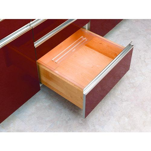 Rev-A-Shelf  BDC24  Bread Drawer Covers  BDC  Drawer Organizers  ;Translucent
