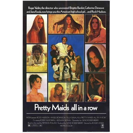 Pretty Maids All In a Row - movie POSTER (Style B) (11