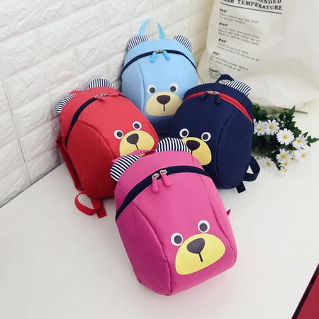 c77bf8adbce8 Girl12Queen Cute Cartoon Bear Backpack Toddler Kids Children Kindergarten  Shoulder Bag