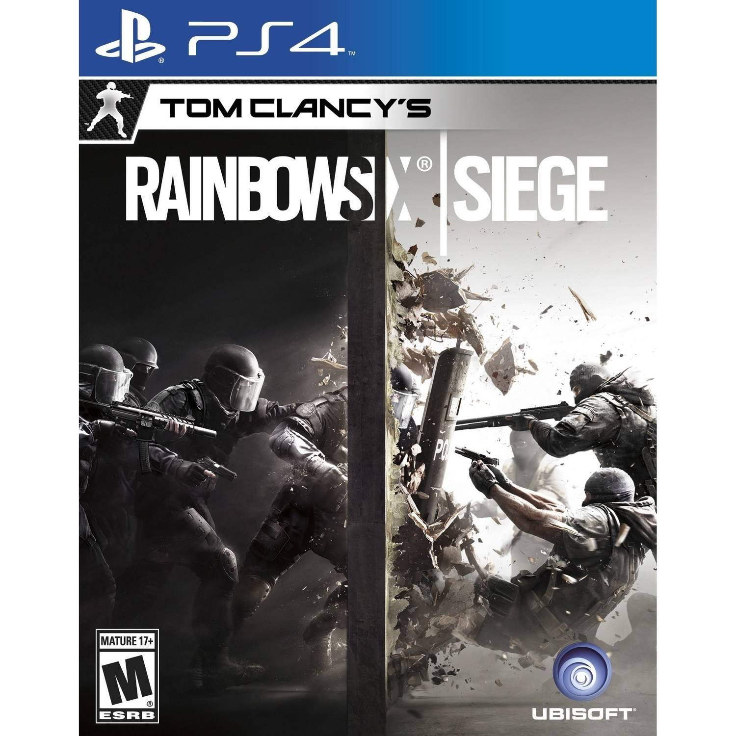 Tom Clancy's Rainbow Six: Siege, Ubisoft, PlayStation 4, 887256014674