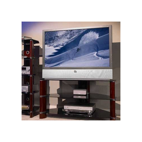 "Bush Segments TV Base, Rosebud Cherry for TVs up to 60"""