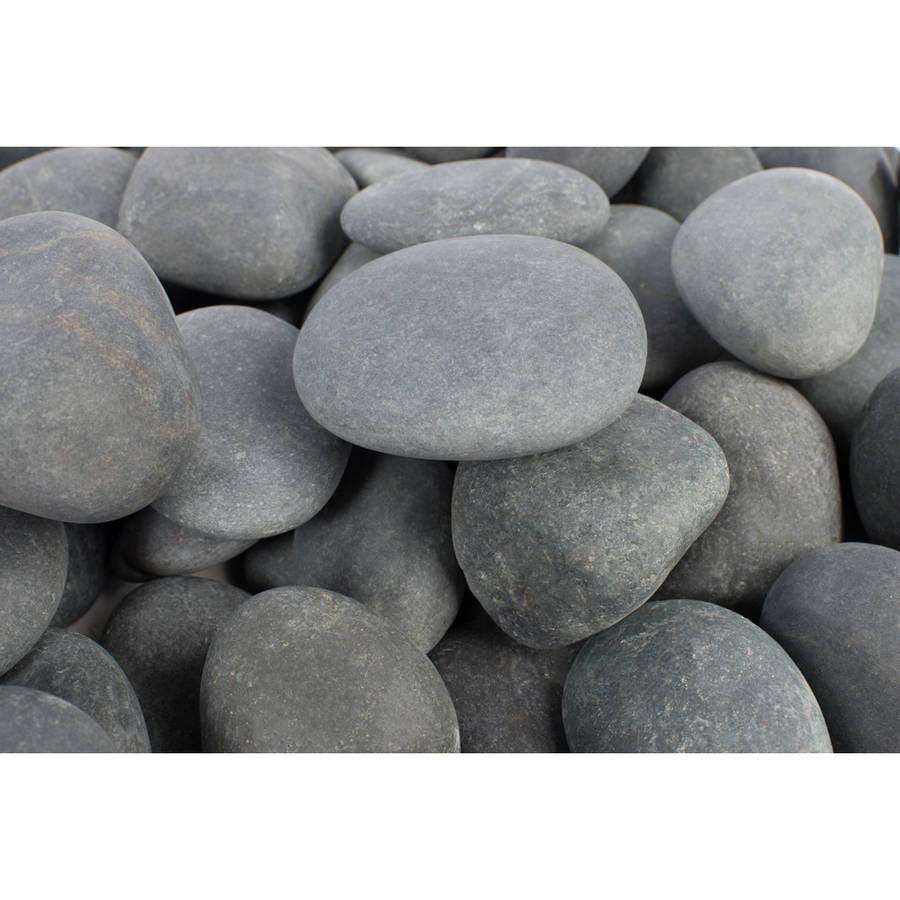 """Margo 30 lb Mexican Beach Pebble, 2"""" to 3"""