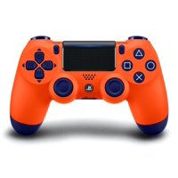 Sony PlayStation 4 DualShock 4 Controller, Sunset Orange