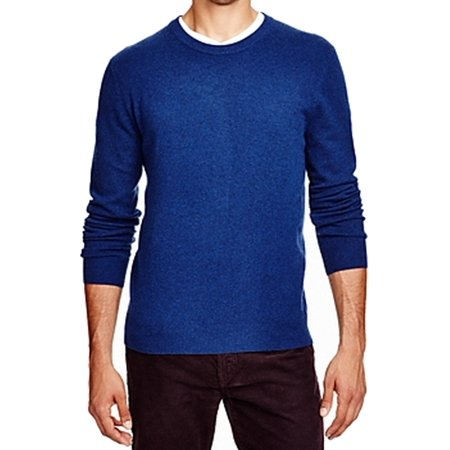 New Mens Cashmere Sweater - Bloomingdale's NEW Blue Mens Size Small S Crewneck Cashmere Sweater