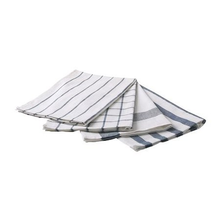 4 Piece Kitchen Bar Towel Set Cotton  4 Towels In Varied Patterns By Qq