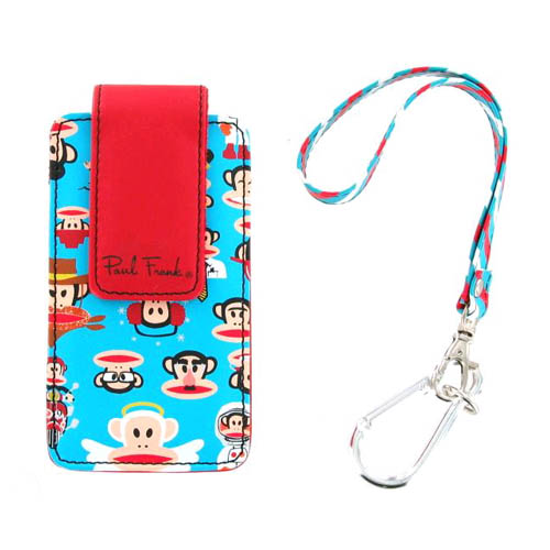 Verizon Paul Frank Universal Phone Pouch - Turquoise (Bulk Packaging)