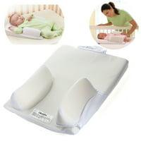 "Newborn Infant Baby Anti Roll Pillow Sleep Positioner Prevent Cushion Baby Pillows for Newborns Sleeping Flat Head the Crib ,12.2""x15.75"""