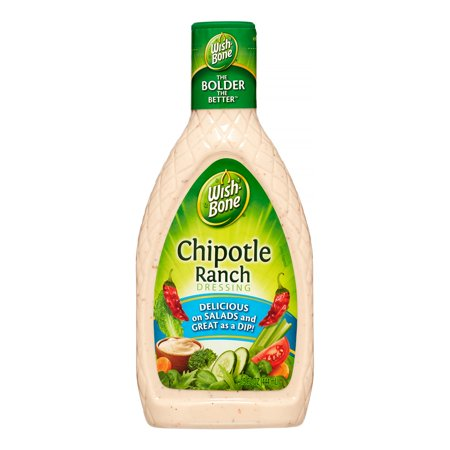 Wish-Bone Salad Dressing, Chipotle Ranch, 15 Fl Oz