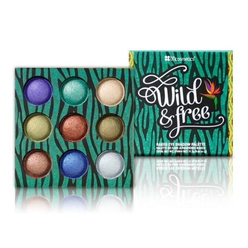 BH Cosmetics Wild Baked Eyeshadow Palette - Wild and Free