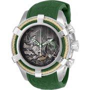Invicta Men's Bolt Quartz Chrono 200m Stainless Steel/Green Silicone Watch 25360