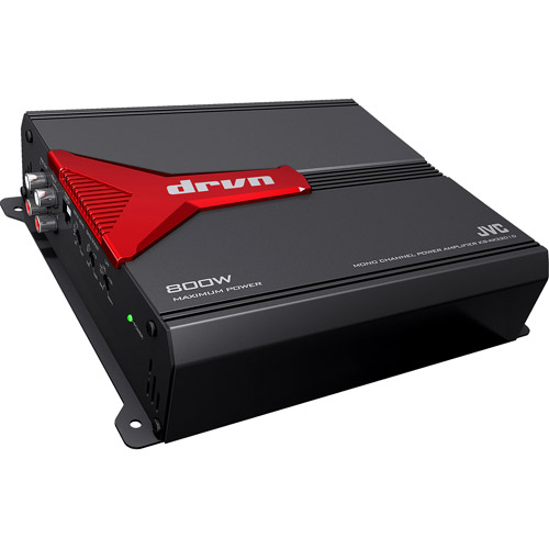 JVC Mobile KS-AX3201D Mono Class D Amplifier with 800W Max Power Output