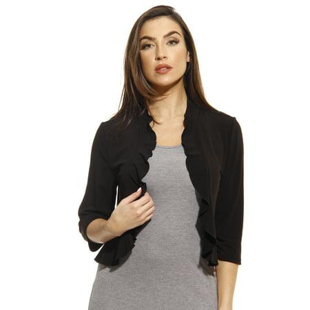 Just Love 3/4 Sleeve Shrug / Shrugs / Women Cardigan