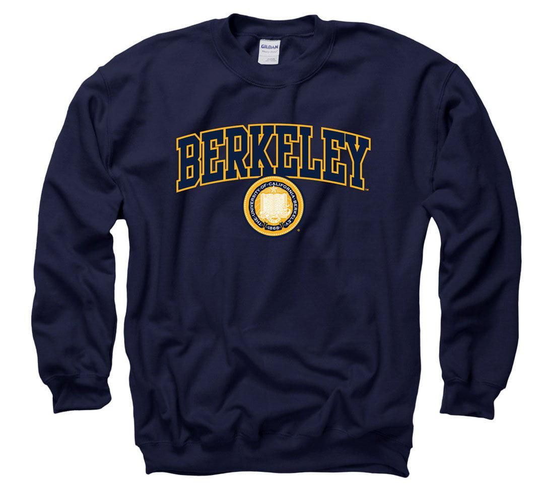 UC Berkeley Arch & Seal Crew Neck Sweatshirt - Navy