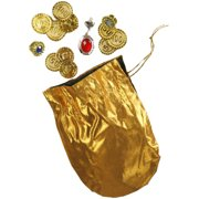 Adult Desert Prince Coins Pouch And Jewelry Set Costume Accessory