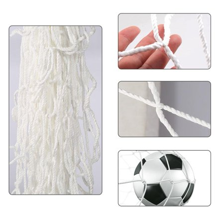 Tbest Full Size Football Soccer Net Sports Replacement Soccer Goal Post Net for Sports Match Training, Goal Net, Soccer Goal