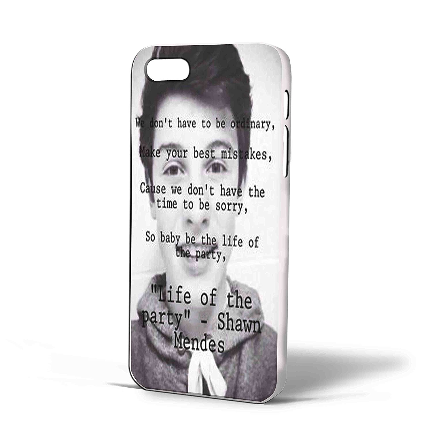 Ganma Shawn Mendes Magcon Boys Quotes Case For iPhone Case (Case For iPhone 6s White)