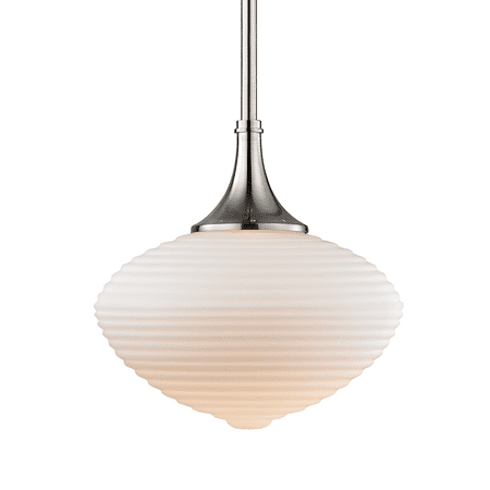 Knox 1 Light Pendant W  Matte Op