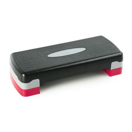 Gold's Gym Adjustable Step Deck with Non-Slip (Kegel Exercises For Men Step By Step)