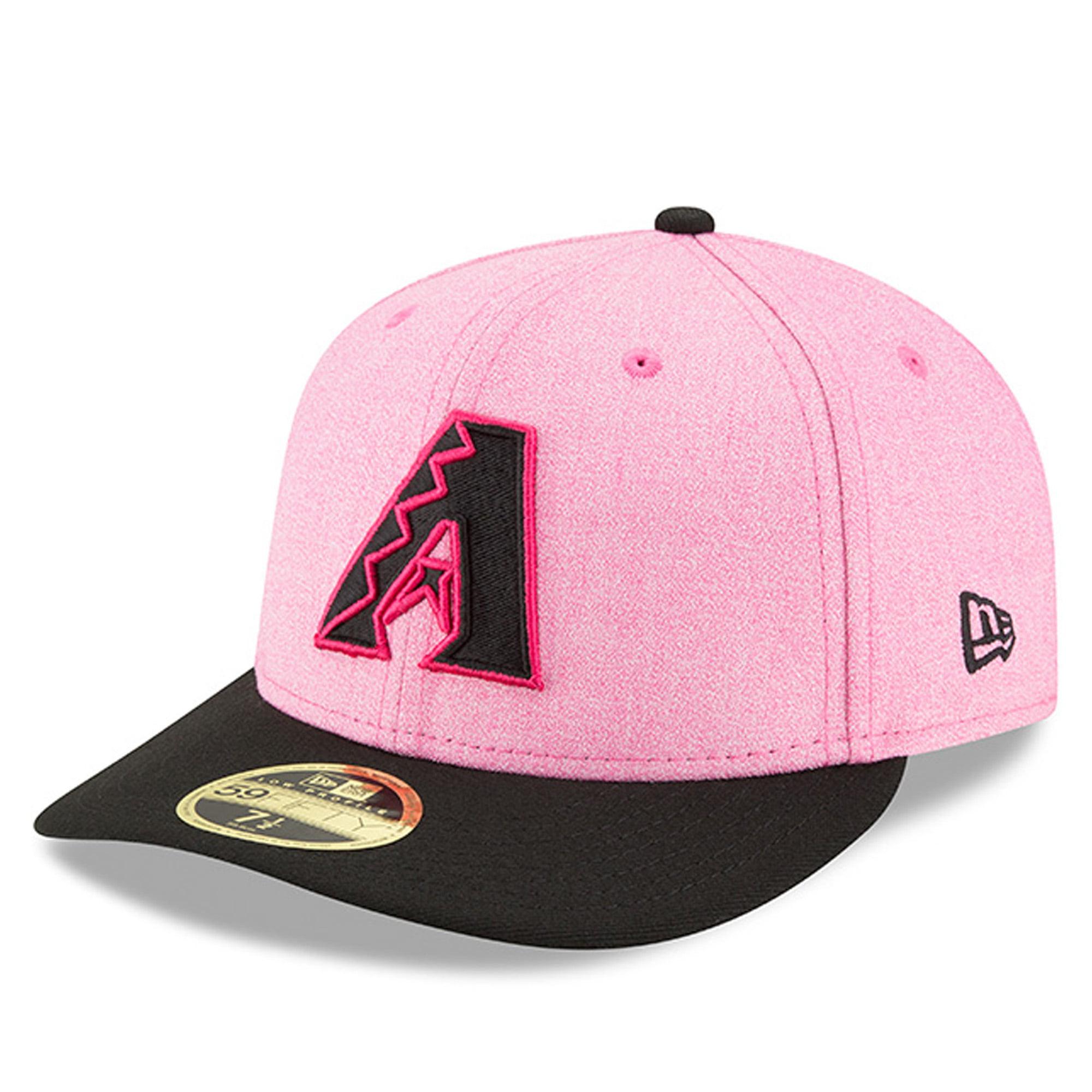 Arizona Diamondbacks New Era 2018 Mother's Day On-Field Low Profile 59FIFTY Fitted Hat - Pink/Black