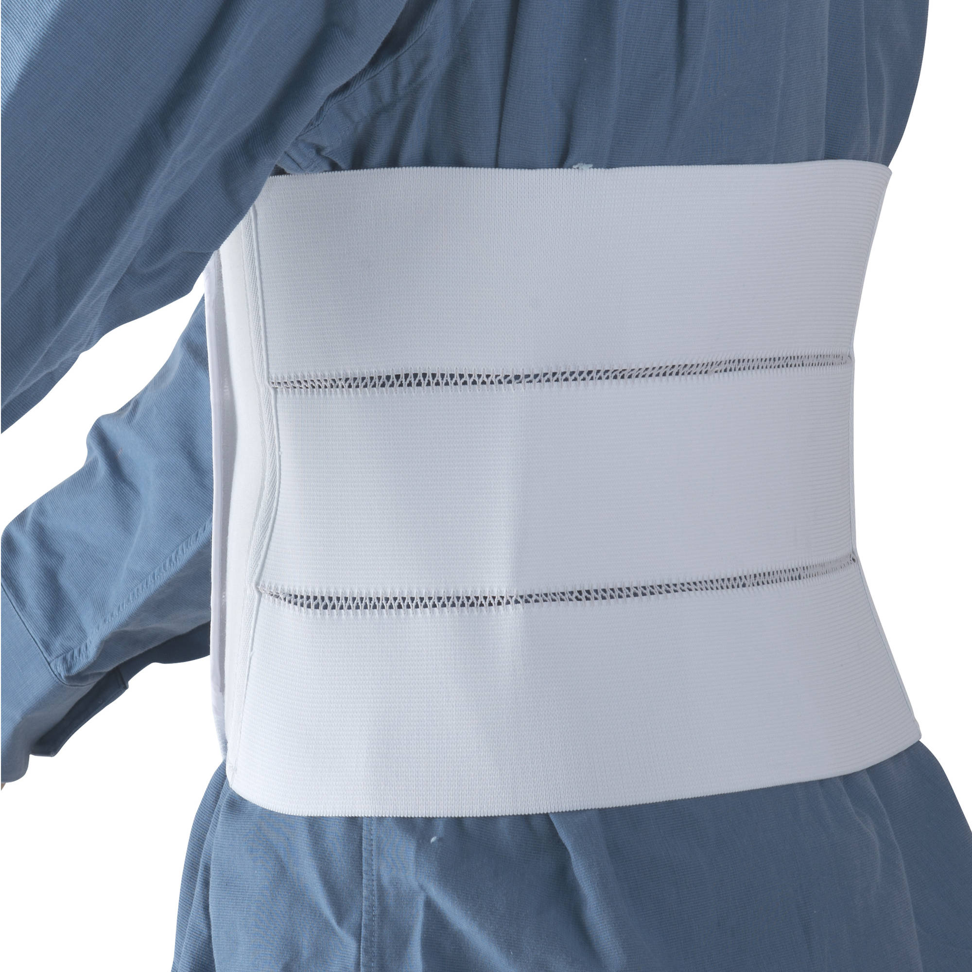 "DMI Elastic Abdominal Binder for Men and Women, 3 Panel, 9"", 30-45"" Waist Size"