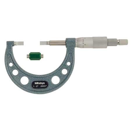 Mitutoyo Micrometer Set - Mitutoyo Blade Micrometer, 122-126