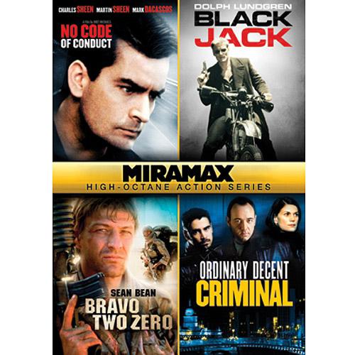 Miramax High-Octane Action Series: No Code Of Conduct / Black Jack / Bravo Two Zero / Ordinary Decent Criminal