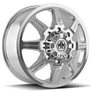 "Mayhem 8101 Monstir Dually Front 20x8.25 8x170 +127mm Chrome Wheel Rim 20"" Inch"