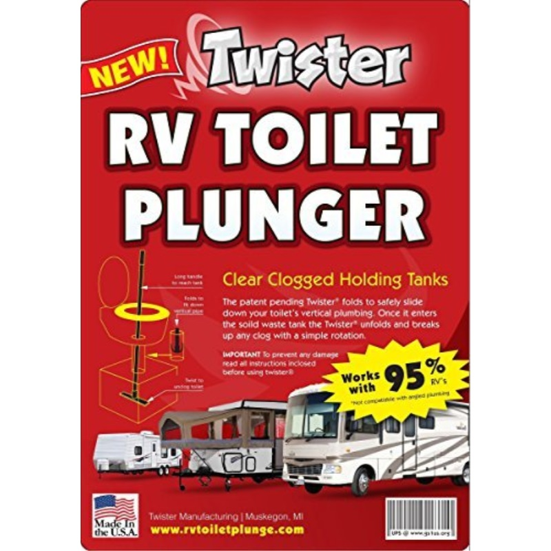 Rv Toilet Plunger, Amazing New Product by Twister Manufacturing